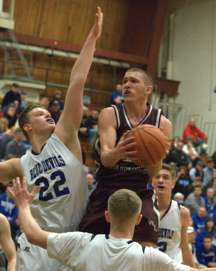 Wilton-Lyndeborough's Jordan Litt was named the Division IV Player of the Year.