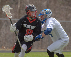 Bedford boys lacrosse gets out to early lead, rolls past Merrimack