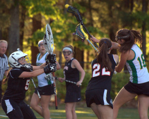 Bishop Guertin girls lacrosse builds lead, holds on to beat Bedford