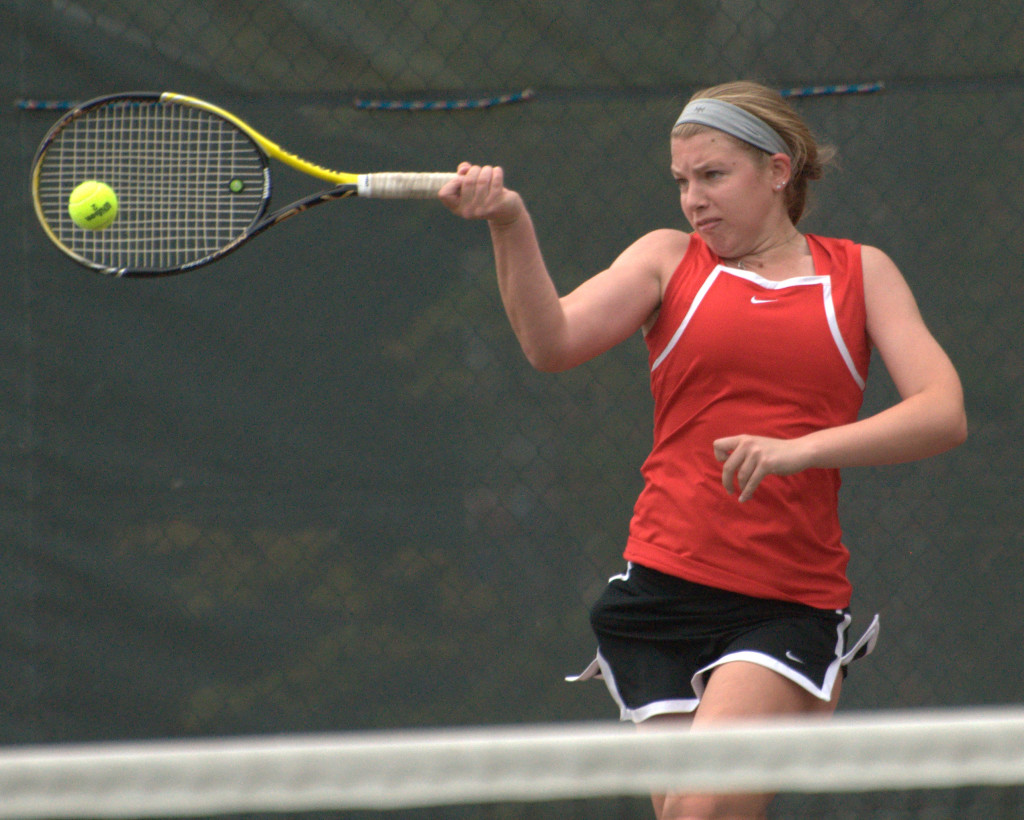 Abby Ramsay and Bedford go into the Division I girls tournament undefeated and the No. 1 seed.