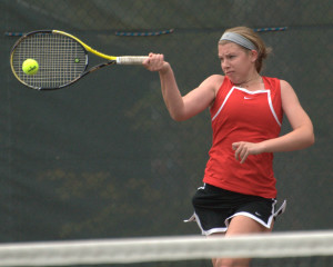 Tennis pairings released, playoffs start Tuesday