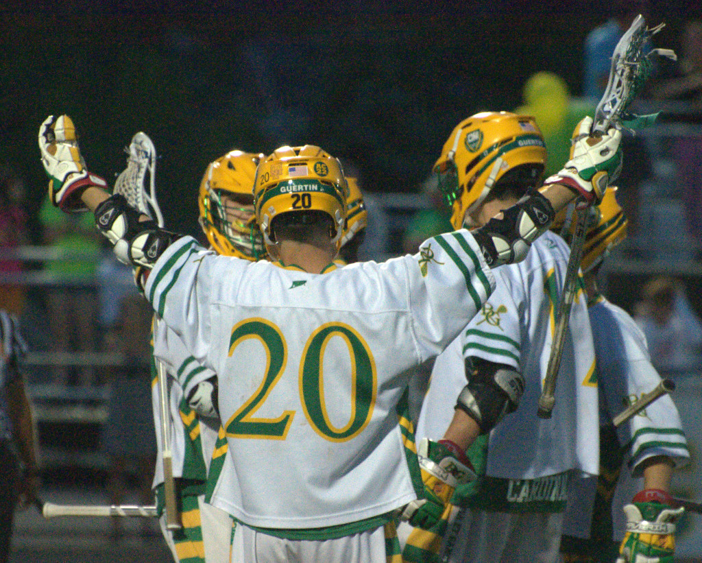 Bishop Guertin boys lacrosse goes for its sixth title in a row against Pinkerton.